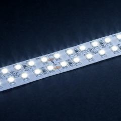 5m White LED Strip Light - Eco Series Tape Light - Dual Row - 24V - IP20