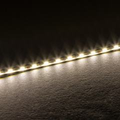 5m White LED Side Emitting Strip Light - 24V - IP20