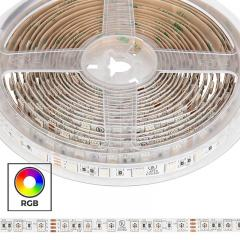 Custom Length RGB LED Strip Light - Radiant Series Tape Light - 24V - IP20