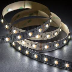 5050 RGBW LED Strip Light - Color-Changing LED Tape Light w/ White and Multicolor LEDs - 24V - IP20 - 122 lm/ft - 4-in-1 Chip