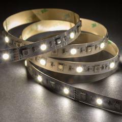 5050 RGB+W LED Strip Light - Color-Changing LED Tape Light w/ White and Multicolor LEDs - 12V - IP20 - 204 lm/ft