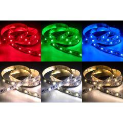 5050 LED Strip - RGB+CCT LED Tape Light - 24V - IP20 - 150 Lumens/ft.