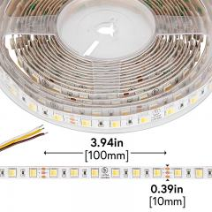 5050 LED Strip - CCT 2 in 1 LED Tape Light - 24V - IP20 - 335 Lumens/ft.