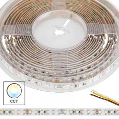 5m Tunable White LED Strip Light - Color Changing LED Tape Light - 24V - IP20