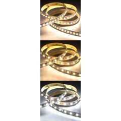 3528 LED Strip - W+W Tunable White LED Tape Light - 24V - IP20 - 350 Lumens/ft.