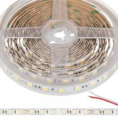 5050 Single-Color LED Strip Light - Custom Length Tape Light - 24V - IP20 - 385 lm/ft