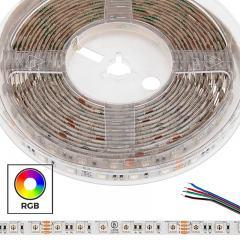5m 5050 RGB LED Strip Light - Color Changing LED Tape Light - 24V - IP54 Weatherproof