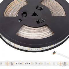 5050 RGB + Tunable White LED Strip Light - Color Changing + Tunable White LED Tape  Light - 24V - IP67 Weatherproof - 5m - 152 Lm/Ft