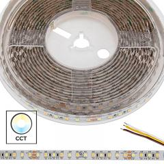 5m Tunable White LED Strip Light - Color Changing LED Tape Light - 24V - IP54 Weatherproof