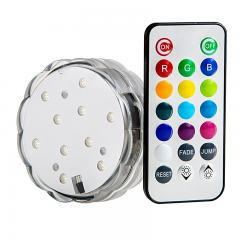 Submersible RGB LED Accent Light w/ Remote