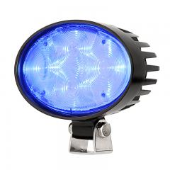 Forklift Blue Light - LED Safety Light with 4° Square Beam Pattern - SWL-B12-O4