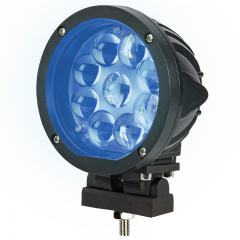 Forklift Blue Light - LED Safety Light w/ Spot Beam Pattern