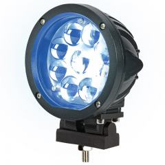 Forklift Blue Light - LED Safety Light w/ Spot Beam Pattern - SWL-B27-R9