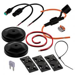Installation Kit for Double Mount LED Forklift Lights