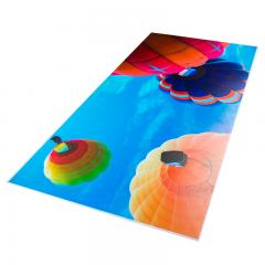 Replacement Diffuser for Non-Dimmable Even-Glow® LED Panel Lights - Balloon 1 LUXART® Print - 2' x 4'