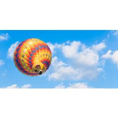 Skylens® Fluorescent Light Diffuser - Balloon 4 Decorative Light Cover - 2' x 4'