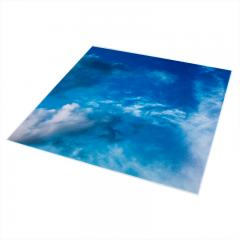 Replacement Diffuser for Dimmable Even-Glow® LED Panel Lights - Summer Sky LUXART® Print - 2' x 2'