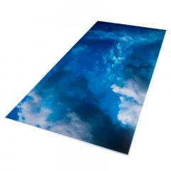 Replacement Diffuser for Non-Dimmable Even-Glow® LED Panel Lights - Summer Sky LUXART® Print - 2' x 4'