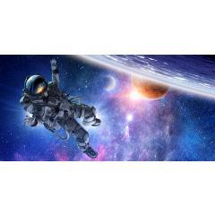 Skylens® Fluorescent Light Diffuser - Astronaut Decorative Light Cover - 2' x 4'