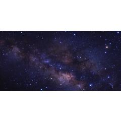 Skylens® Fluorescent Light Diffuser - Starry Night Decorative Light Cover - 2' x 4'