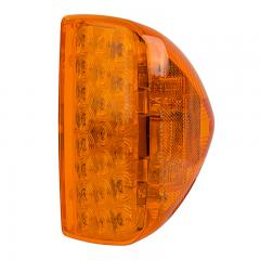 Triangle LED Turn Signal Light for Peterbilt 379 Trucks - Bullet Connector - Surface Mount - 31 LEDs