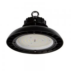 100W Black UFO LED High Bay Light - 13000 Lumens - 250W Metal Halide Equivalent - 5000K/4000K