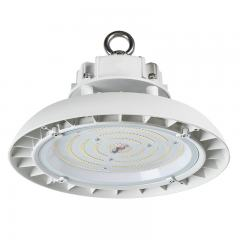 100W White UFO LED High Bay Light - 250W Equivalent - 13000 Lumens - 5000K