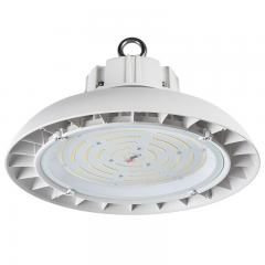 150W White UFO LED High Bay Light - 19500 Lumens - 400W Metal Halide Equivalent - 5000K