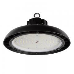 200W Black UFO LED High Bay Light - 26000 Lumens - 750W Metal Halide Equivalent - 5000K/4000K