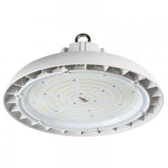 200W White UFO LED High Bay Light - 750W Equivalent - 26000 Lumens - 5000K