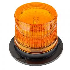 "5-1/4"" Amber LED Strobe Light Beacon"