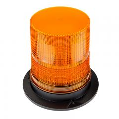 "6-3/4"" Amber LED Strobe Light Beacon - Double Flash Pattern"