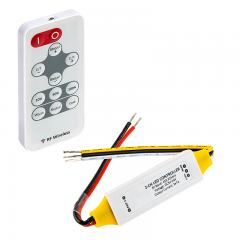 Tunable White LED Controller w/ Wireless RF Remote - 7 Amps/Channel