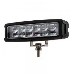 "6"" Rectangle LED Work Light - Off-Road LED Driving Light - 12W - 900 Lumens"