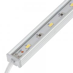 Waterproof Linear LED Light Bar Fixture w/ DC Barrel Connectors - 675 Lumens
