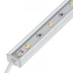 Waterproof Linear LED Light Bar Fixture w/ DC Barrel Connectors - 415 lm/ft