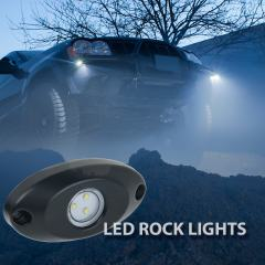 Waterproof Off Road LED Rock Light Kit - 8 LED Rock Lights - 213 Lumens