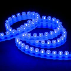 Outdoor Single-Color LED Strip Light - Super Flexible w/ Through Hole LEDs - 12V - Waterproof IP67 - 85 Lumens/ft