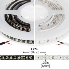 3528 Outdoor Single-Color LED Strip Light/Tape Light - 12V - Weatherproof IP66 - 76 lm/ft