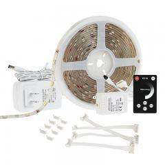 Outdoor LED Strip Light Kits - Weatherproof 12V LED Tape Light - 110 Lumens/ft.
