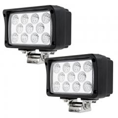 """Off-Road LED Work Light/LED Driving Light - 6"""" Rectangular - 33W - 1700 Lumens"""