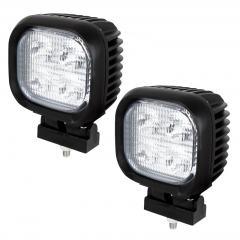 """Mini Off-Road LED Work Light/LED Driving Light - 4"""" Square - 45W - 4,000 Lumens"""