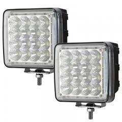 50W Quad Side Shooter LED Work Light - 5,100 Lumens - 6500K