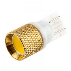 194 LED Boat and RV Light Bulb - 1 Strobing COB LED - Miniature Wedge Retrofit