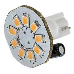 921 LED Bulb - 9 SMD LED Disc - Miniature Wedge Base