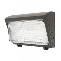 40W LED Wall Pack - 5200 Lumens - Glass Lens - 175W MH Equivalent - 5000K