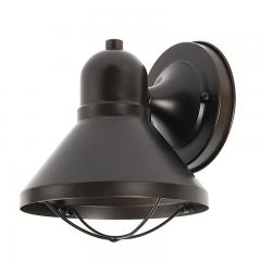 9W Bronze LED Outdoor Wall Light - Decorative Sconce - 525 Lumens - 3000K/4000K