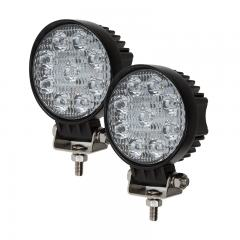 "LED Light Pods - 3.5"" Round Mini LED Work Lights - 22W - 1,600 Lumens - 2 Pack"