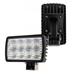 "Off-Road LED Work Light/LED Driving Light - 6"" Rectangular - 24W - 1,800 Lumens - Horizontal or Vertical Mount"