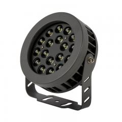 18W LED Flag Light - 18° Beam - 12-30' pole - Landscape Spotlight - 5000K